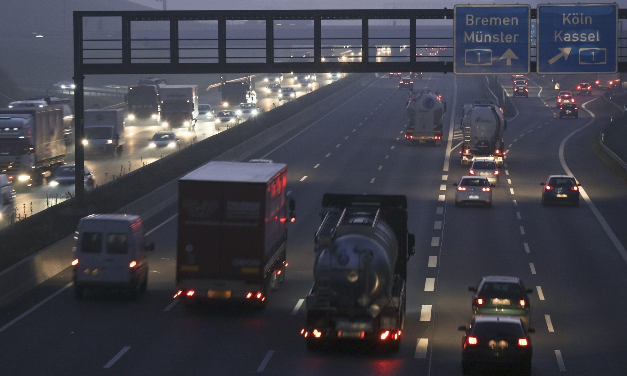 Polnische Kraftfahrer